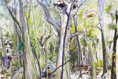 L-SAXANA-Gemälde-Nr.-1-im-Hambacher-Wald-Gallien-240-x-180-cm-Öl-a.Lw_.-plein-air-2018-