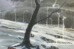 H.-...-over-your-cities-trees-will-grow-40-x-50-cm-Öl-auf-Leinwand-2019