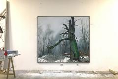 H.-Baumportrait-Reinhardswald-170-x-200-cm-Öl-a.Lw_.-2019