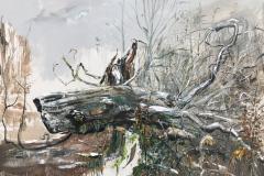 Nr.-19-DU-Baumportrait-RHW-...-DER-URWAL-IM-URWALD-180-x-250-cm-Öl-a.Lw_.-plein-air-2019