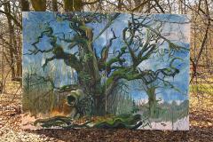 Nr.-22-DU-Baumportrait-RHW-...-MARGARETE-2-250-x-360-cm-Öl-auf-Leinwand-2019